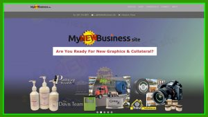 My New Business Site