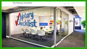 The Notary Checklist